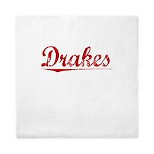 Drakes, Vintage Red Queen Duvet