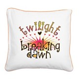 Breaking Dawn Square Canvas Pillow