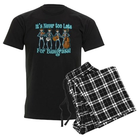 Bluegrass Beyond Men's Dark Pajamas