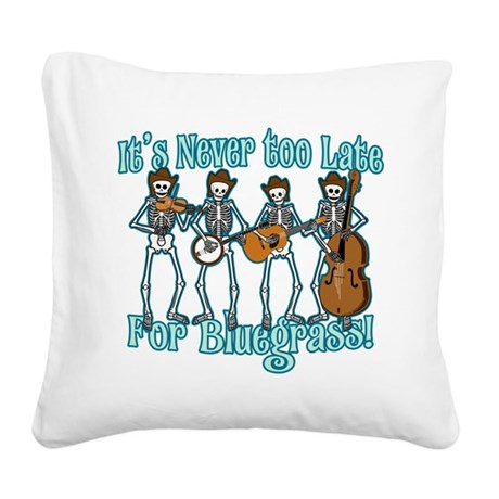 Bluegrass Beyond Square Canvas Pillow