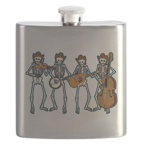 Cowboy Music Skeletons Flask