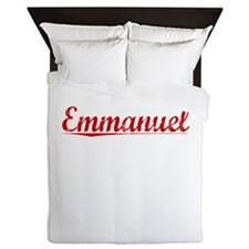 Emmanuel, Vintage Red Queen Duvet