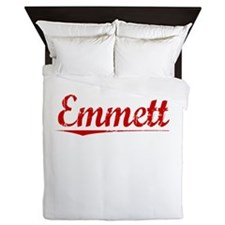 Emmett, Vintage Red Queen Duvet