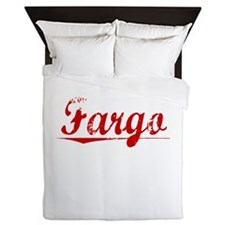 Fargo, Vintage Red Queen Duvet