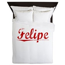 Felipe, Vintage Red Queen Duvet