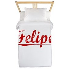 Felipe, Vintage Red Twin Duvet