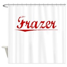 Frazer, Vintage Red Shower Curtain