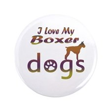 "Boxer designs 3.5"" Button (100 pack)"
