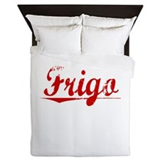 Frigo, Vintage Red Queen Duvet