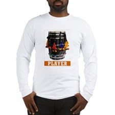 Dhol Player Long Sleeve T-Shirt