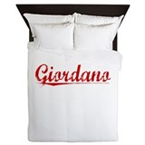 Giordano, Vintage Red Queen Duvet