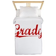 Grady, Vintage Red Twin Duvet