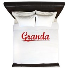 Granda, Vintage Red King Duvet