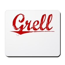 Grell, Vintage Red Mousepad