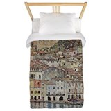 Lake Garda by Klimt Twin Duvet