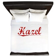 Hazel, Vintage Red King Duvet