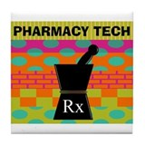 Pharmacy Tile Coaster