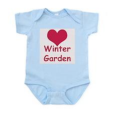 Heart Winter Garden Infant Creeper