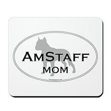 Am Staff Terrier MOM Mousepad