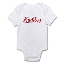 Hinkley, Vintage Red Infant Bodysuit