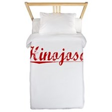 Hinojosa, Vintage Red Twin Duvet