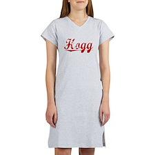 Hogg, Vintage Red Women's Nightshirt