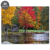 Cold Stream Ponds Country Colors Puzzle