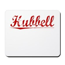 Hubbell, Vintage Red Mousepad