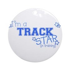 Track star Ornament (Round)