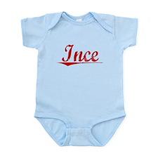 Ince, Vintage Red Infant Bodysuit