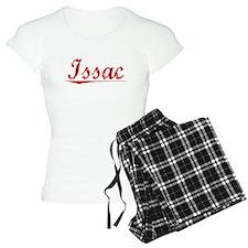 Issac, Vintage Red Pajamas