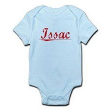Issac, Vintage Red Infant Bodysuit