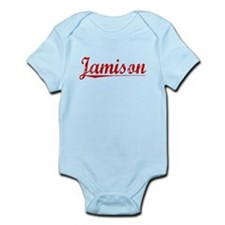 Jamison, Vintage Red Infant Bodysuit
