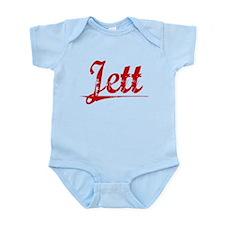 Jett, Vintage Red Infant Bodysuit