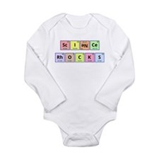 Science Rocks Long Sleeve Infant Bodysuit
