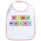 Science Rocks Bib