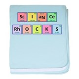 Science Rocks baby blanket