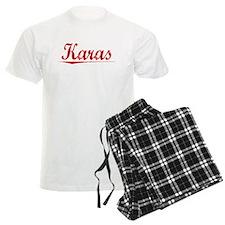 Karas, Vintage Red Pajamas