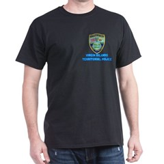 Virgin Islands Police Black T-Shirt