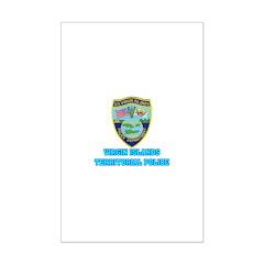 Virgin Islands Police Mini Poster Print