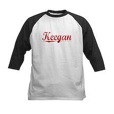 Keegan, Vintage Red Tee