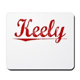 Keely, Vintage Red Mousepad