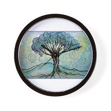 tree ! tree of life, art! Wall Clock