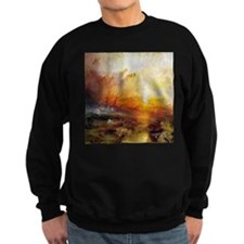Slave Ship by Turner Sweatshirt