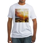 Slave Ship by Turner Fitted T-Shirt