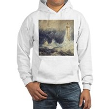 Bell Rock Lighthouse by Turner Jumper Hoody