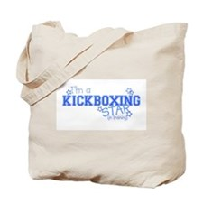 Kickboxing star Tote Bag