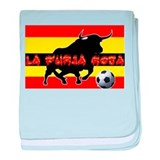 La Furia Roja baby blanket