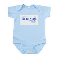 Ice Skating star Infant Creeper