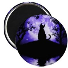 "RosaliesMoon_16x20 2.25"" Magnet (10 pack)"